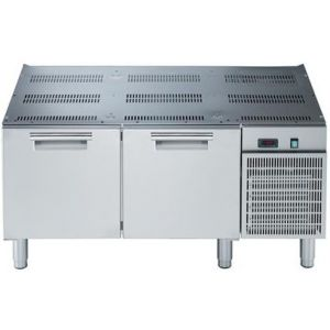 Подставка морозильная, GN1/1, L1.2м, 2 ящика, ножки, -15/-20С, нерж.сталь, дин.охл., агрегат справа, для линии 700