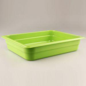 Гастроемкость GN1/2х65, полипропилен  зеленый