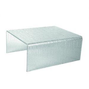 Подставка-стенд L 30,5см w 25см h 12,5см, пластик прозрачный