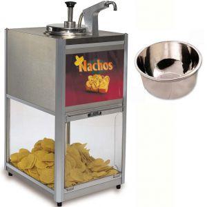 Подогреватель для чипсов и соуса Nacho, внутр.чаша 3.3л д/соуса в комплекте