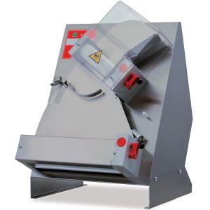 Тестораскатка электрическая настольная, длина роликов 400мм, управление ручное, зазор 1-4мм, нерж.сталь