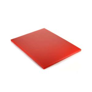 Доска разделочная L 53см w 30,5см h 1,4см ROBUST, полиэтилен красный