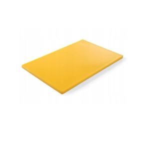 Доска разделочная L 53см w 30,5см h 1,4см ROBUST, полиэтилен желтый