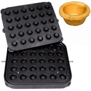 Форма для аппарата для тарталеток и вафель CookMatic, 30 ячеек круг D41х18мм