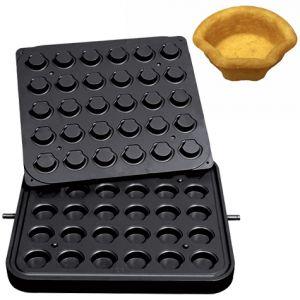 Форма для аппарата для тарталеток и вафель CookMatic, 30 ячеек ракушка 50х45х18мм