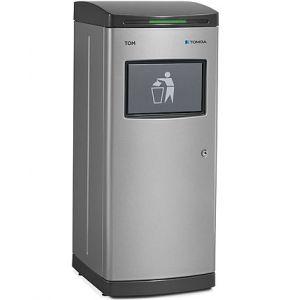 Пресс для смешанных отходов, датчик движения, светло-серый, модуль для сбора жидкости