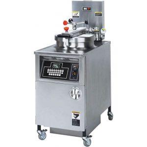 Фритюрница электрическая под давлением, 1 ванна 22л, напольная, электрон.упр., фильтрация