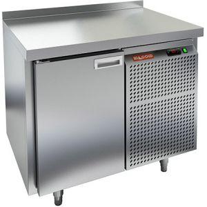 Стол холодильный, GN1/1, L0.90м, борт H50мм, 1 дверь глухая, ножки, -2/+10С, нерж.сталь, дин.охл., агрегат справа