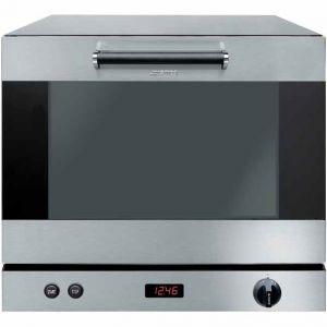 Печь электрическая конвекционная,  4х(435х320мм), управление электронное, корпус нерж.сталь, увлажнение, предварительный нагрев, противни алюминиз.
