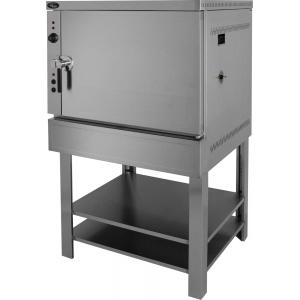 Печь электрическая пароварочная, 1 камера 5GN2/1, управление электромех., корпус нерж.сталь, парогенератор, подставка открытая