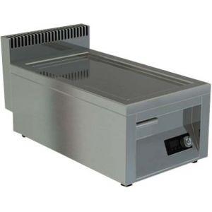 Гриль-сковорода индукционная, 1 зона 5.0кВт, поверхность гладкая стальная, борт, настольная