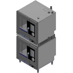 Комплект для установки пароконвектоматов электрических: NAEB(V071) на NAEB(V071), SAEB(V071) на SAEB(V071), AREN(S064) на AREN(S064)
