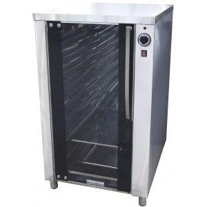 Шкаф расстойный тепловой,  9х(400х600), 1 дверь стекло, нерж.сталь