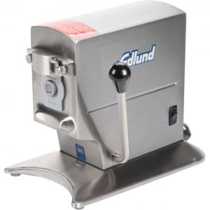 Аппарат д/открывания консервных банок, электр., 2 скорости, 100-200 банок/день, фикс.скоба