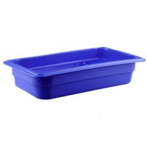 Гастроемкость GN1/3х65, полипропилен синий