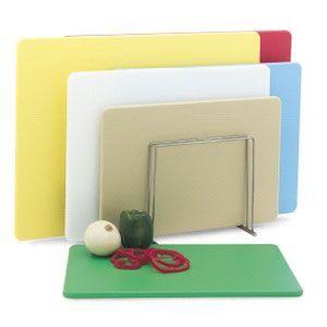 Доска разделочная L 60,9см w 45,7см h 1,3см, пластик желтый (б/у (бывший в употреблении))