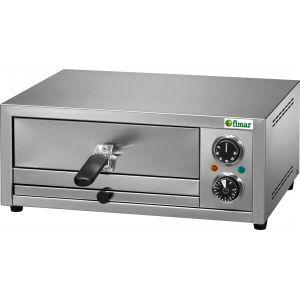 Печь для пиццы электрическая, подовая, 1 камера  300х330х50мм, 1 пицца D300мм, электромех.управление, дверь глухая выдвижная