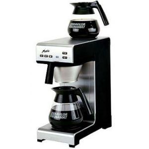 Кофемашина настольная с подключением к воде, 1 группа, 15л/ч, подача в графин, 2 подогреваемые поверхности