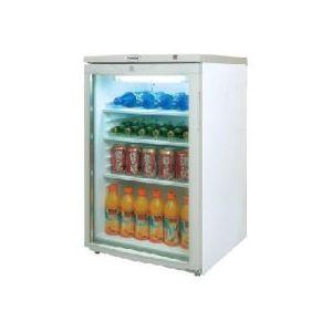 Шкаф холодильный для напитков (минибар),  85л, 1 дверь стекло, 3 полки, ножки, 0/+10С, стат.охл., белый