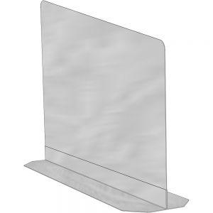 Перегородка для напольной попкорн-витрины, нерж сталь