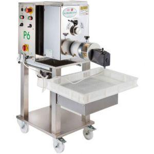 Пресс для макаронных изделий, загрузка  6кг, производительность 15-18кг/ч, матрицы бронзовые 9, 28, 89, 370, 380V