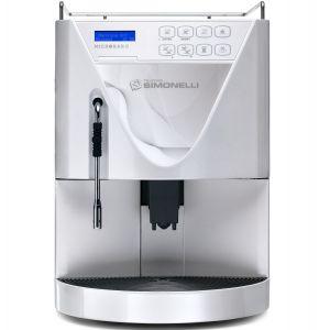 Кофемашина-суперавтомат, 1 группа, 1 кофемолка, белый жемчуг, заливная, обновленный корпус, капучинатор