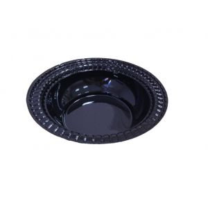 Тарелка суповая 473мл пластик черный, 450шт