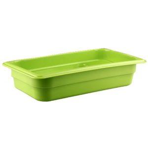 Гастроемкость GN1/3х65, полипропилен зеленый