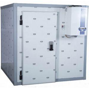Камера холодильная Шип-Паз,   4.14м3, h2.46м, 1 дверь расп.левая, ППУ80мм