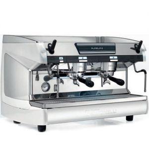 Кофемашина-полуавтомат, 2 группы (выс),  бойлер 14л, белый жемчуг, 220V, LED