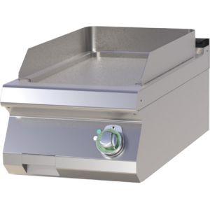 Гриль-сковорода электрическая, 1 зона, поверхность гладкая стальная, настольная