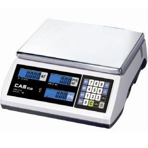 Весы электронные торговые, настольные, ПВ 0.02-6.00кг, платформа 290х209мм, подключение комбинированное, корпус пластик