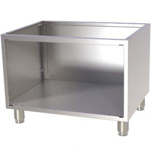 Подставка под оборудование,  800х730х600мм, без столешницы, полузакрытая без двери, нерж.сталь 304, для линии 700