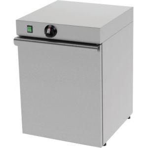 Шкаф тепловой для тарелок, вместимость 30шт. D350мм, 1 дверь, 1 полка, двойные стенки
