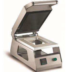 Машина для термоупаковки лотков, настольная, ширина пленки 180мм, электронное управление, без матриц