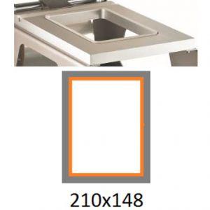 Матрица для машины для термоупаковки лотков IS-1, 210х148мм, алюминий
