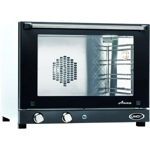 Печь электрическая конвекционная,  4х(460х330мм), управление электромех., корпус нерж.сталь, дверь откидная