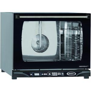 Печь электрическая конвекционная,  4х(460х330мм), управление электронное, корпус нерж.сталь, увлажнение, дверь откидная, без подключения к водопроводу