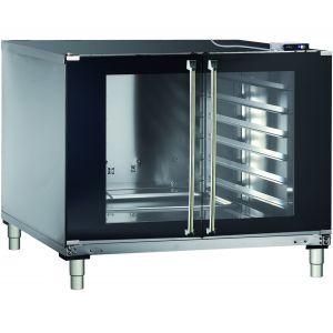 Шкаф расстоечный для печей BakerLux, 12х(600х400), 2 двери распашные стекло, корпус нерж.сталь, 220V