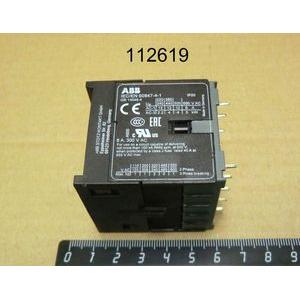 Контактор В6-30-01-Р 9А катушка 230VAC на плату (3no+1nc)