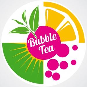 Плёнка с логотипом, рулон 3,5кг, для запайщика стаканов, для Bubble Tea