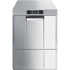 Машина посудомоечная фронтальная, 500х500/600мм, 60-40-24-15кор/ч, доз.опол.+моющ., 7 циклов, 380/220В, эл.упр., водоумягчитель