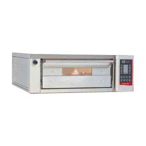Печь для хлеба электрическая подовая, 1 камера  650х860х180мм, сенсорное управление, дверь стекло, под металл, нерж.сталь