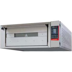 Печь для хлеба электрическая подовая, 1 камера 1240х660х300мм, сенсорное управление, дверь стекло, под металл, нерж.сталь