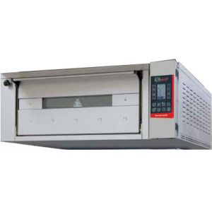 Печь для хлеба электрическая подовая, 1 камера  830х1260х300мм, сенсорное управление, дверь стекло, под металл, нерж.сталь