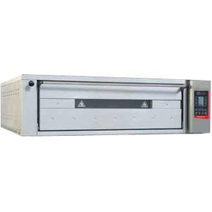 Печь для хлеба электрическая подовая, 1 камера 1240х1260х180мм, сенсорное управление, дверь стекло, под металл, нерж.сталь