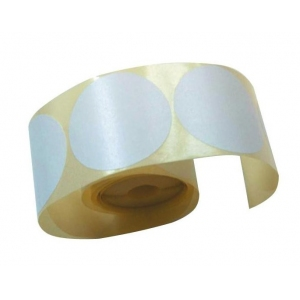 Этикетка круглая D 40мм самоклеящаяся белая, 250шт