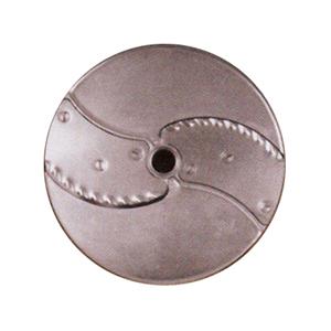 Диск-слайсер для овощерезки-куттера R502, R652 и овощерезки CL50, CL50 Ultra, CL 52, CL 55, CL 60, CL 50 Gourmet, кружочки и колечки, срез волна 3мм
