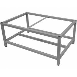 Подставка под шкаф жарочный Шжэ/3, 1230х930х450мм, без столешницы, открытая, обвязка с 4-х сторон, краш.сталь