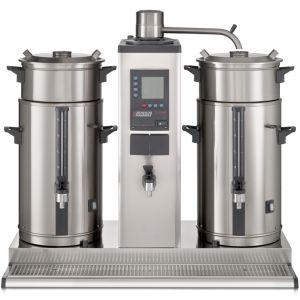 Кофеварка настольная с подключением к воде, 2 контейнера по 20л, 90л/ч, бойлер для кипятка 4.6л